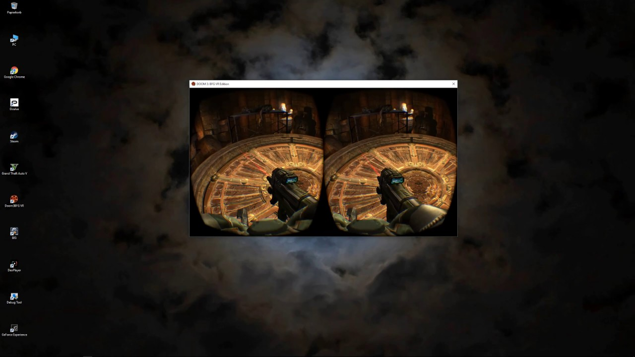 Download DOOM 3 VR with Oculus Touch Resurection of evil