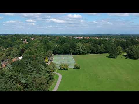 Calthorpe Park in Fleet, Hampshire