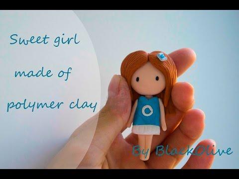 Как сделать девочку из пластилина