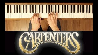 Merry Christmas, Darling (The Carpenters) [Easy-Intermediate Piano Tutorial]