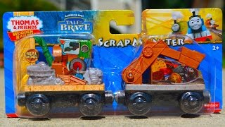 Thomas And Friends Scrap Monster 2014 Tale Of The Brave Wooden Railway Toy Train Review