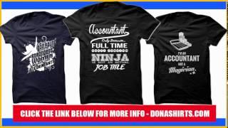 Accountant T-Shirt & Hoodie, Accounting Funny T Shirt