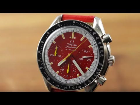 Omega Speedmaster Michael Schumacher Chronograph 3810.61.41 Watch Review