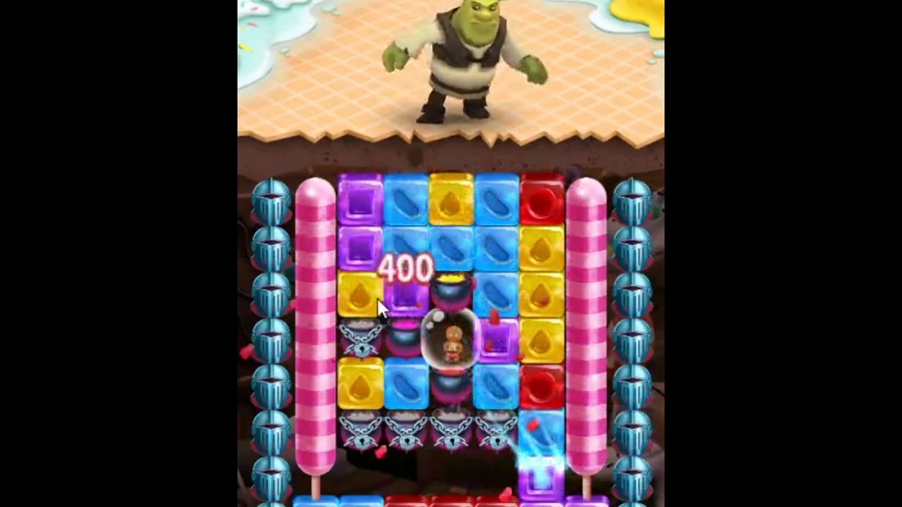 Shrek Sugar Fever Level 112 - NO BOOSTERS 👹🐴🐷 | SKILLGAMING ✓️
