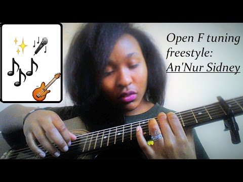 Open F tuning ACOUSTIC freestyle