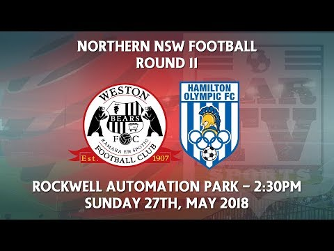 2018 NNSWF NPL Round 11 - Weston Workers Bears v Hamilton Olympic FC