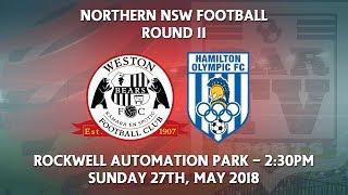 2018 NNSWF NPL Round 11 - Weston Workers Bears v Hamilton Olympic FC