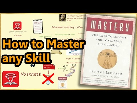 MASTERY | GEORGE LEONARD (ANIMATED BOOK REVIEW)