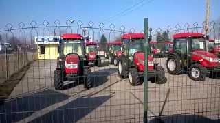 Nowe traktory ogrodnicze McCormick 4x4. www.traktorki-japonskie.waw.pl