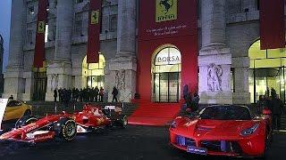 Ferrari : première cotation sans turbo à Milan - economy
