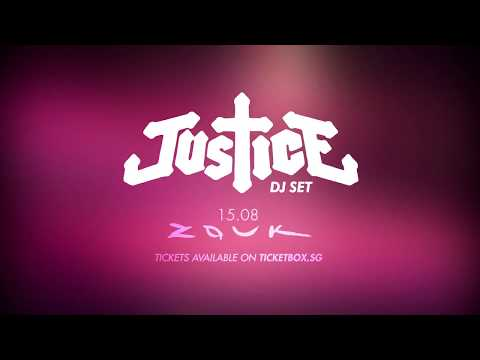 Justice DJ Set in Singapore August 15 - Teaser