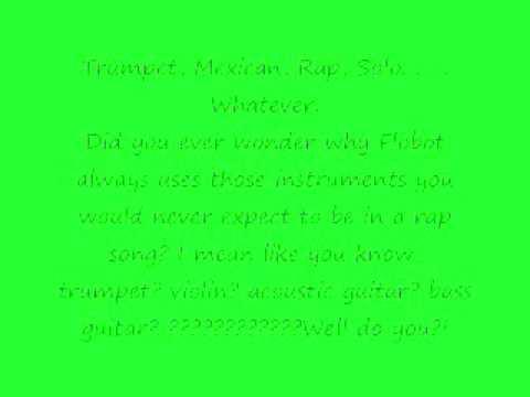 Flobots- Handlebars Lyrics