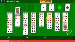 Retro 30th Anniversary | FreeCell #1 [Easy] Play the 5♦ to the Foundation