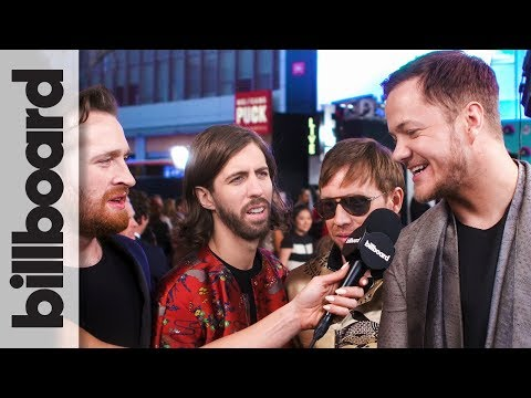 Imagine Dragons on Performing With Khalid at The 2017 American Music Awards