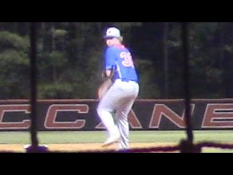 One-armed pitcher throws mid-80s