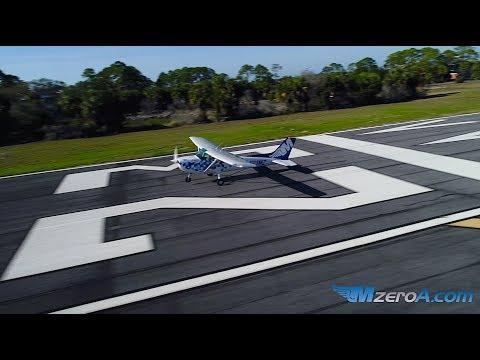 Crosswind + Short Field Takeoff and Landing - MzeroA Flight Training