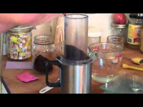 Aeropress Coffee Brewing - My Method