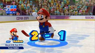 Mario & Sonic at the Sochi 2014 Olympic Winter Games - Ice Hockey Gold Medal