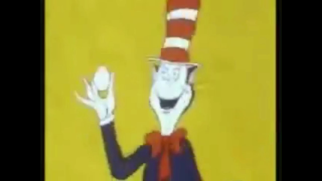 081652f1 Cat in the hat says eggs for 1 hour - YouTube