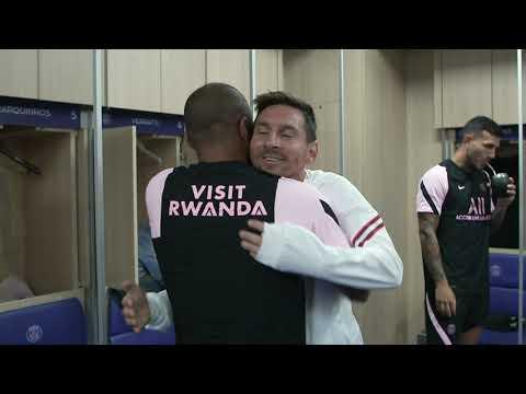 PSG : La première séance d'entraînement de Lionel Messi !