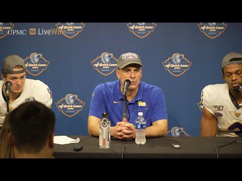 Pitt Football | Coach Narduzzi, Kenny Pickett And Damar Hamlin | Postgame Vs. EMU