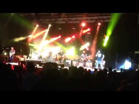 Counting Crows performing Mrs. Potter at NC Music Factory in Charlotte, 6/24/2014.