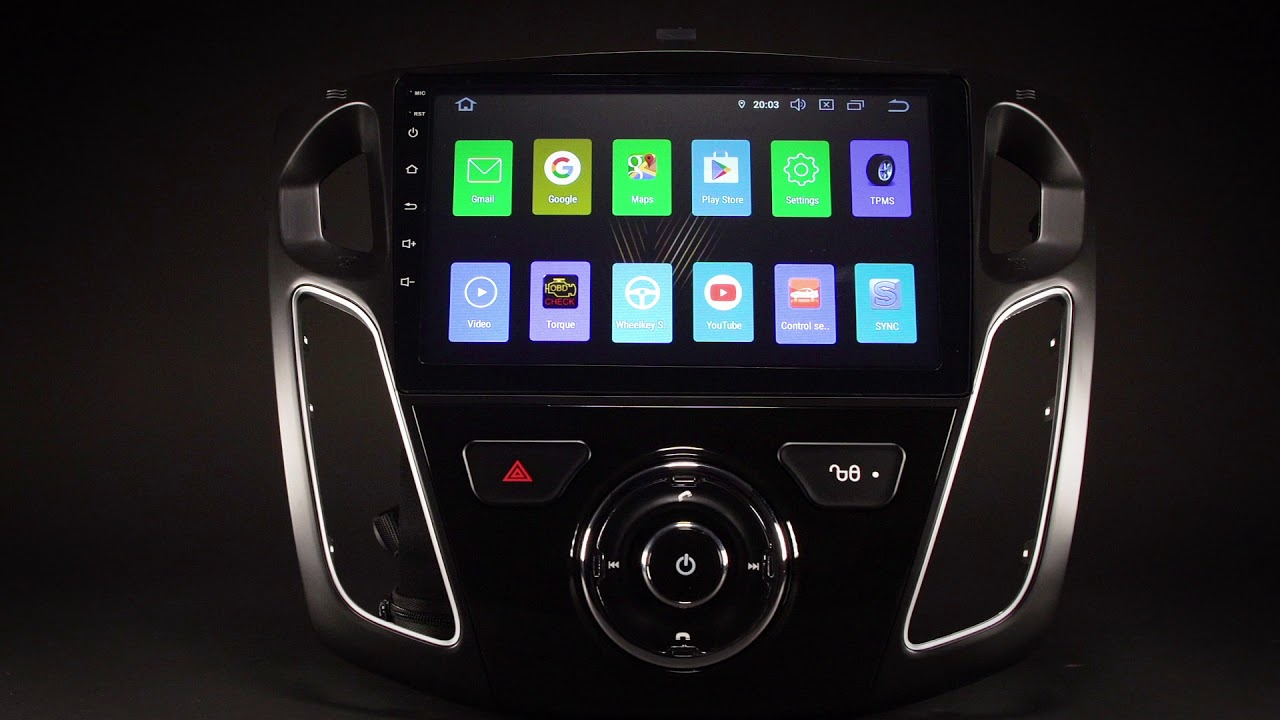 android auto ford focus 2018