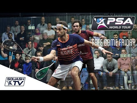 Squash: Mo. ElShorbagy v Ashour - Free Game Friday - World Champs 2017