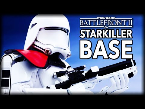 STARKILLER BASE GALACTIC ASSAULT - Star Wars Battlefront 2 Multiplayer Gameplay
