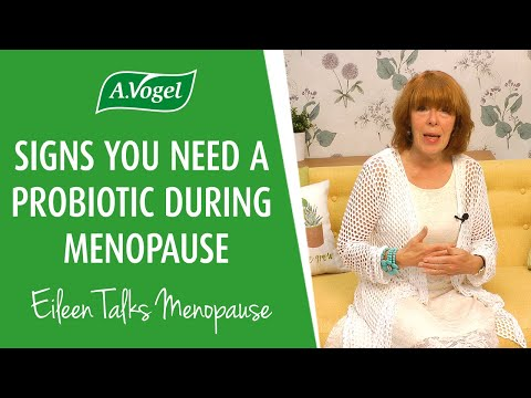 Signs you might need a probiotic during menopause