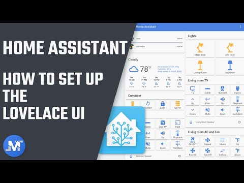 How to set up Lovelace on Home Assistant - YouTube