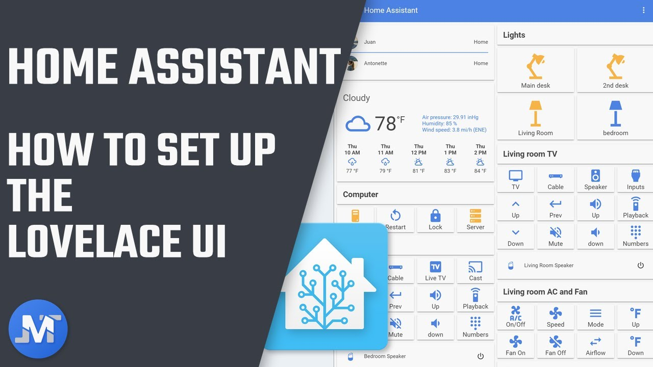 How to set up Lovelace on Home Assistant