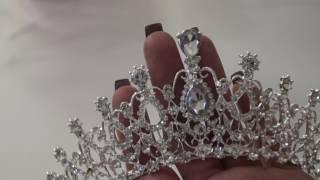 Корона с Алиэксперсс красивая . Шикарная диадема обзор.