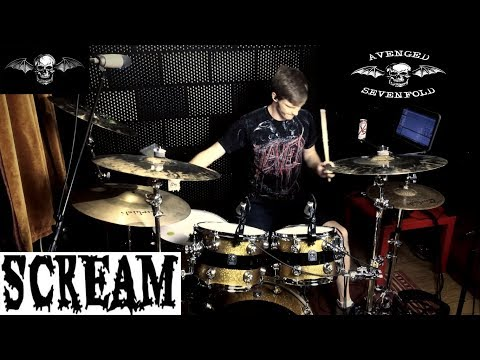Avenged Sevenfold - Scream - Drum Cover by CDC