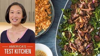 How to Make Bò Lúc Lắc (Shaking Beef) aฑd Gỏi Cuốn (Vietnamese Summer Rolls)