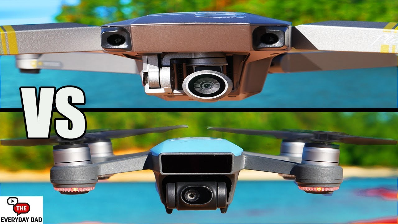 DJI Mavic Pro Platinum Vs Spark Quick Shot Comparison Drone Flight Friday