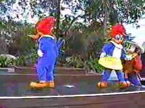 Cartoon Heroes July 2001