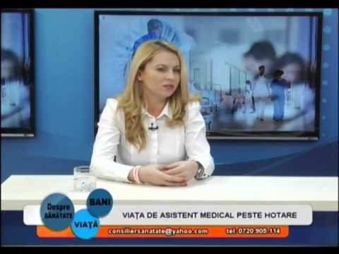 Viata de asistent medical peste hotare - invitat: Monica Nica, manager PCQ Recruitment Romania