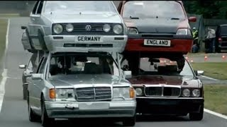 Top Gear vs The Germans Part 1 - Double Decker Racing - Series 11 - BBC