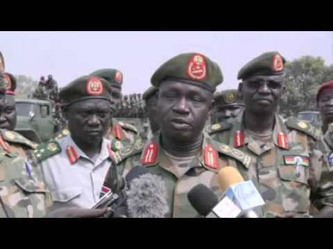 South Sudanese forces resume redeployment of troops outside Juba