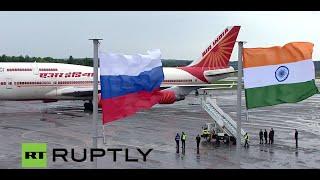 LIVE: Prime minister of India Narendra Modi arrives in Ufa thumbnail