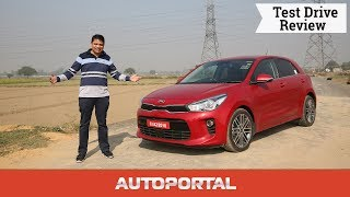 Kia Rio Hindi Test drive review — Autoportal