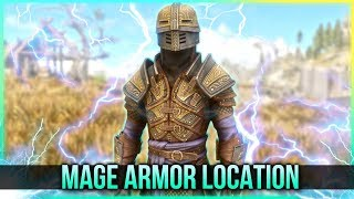 Skyrim Mage Armor – Spell Knight Armor Location – (New Creation Club Mods Content) thumbnail
