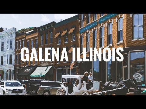 Galena Illinois in 60 seconds
