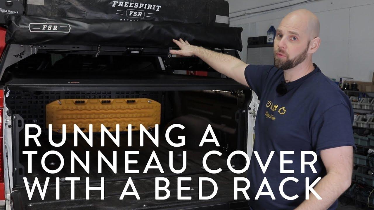 tonneau cover bed rack options