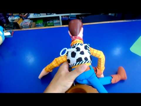 toy story peluche woody youtube. Black Bedroom Furniture Sets. Home Design Ideas