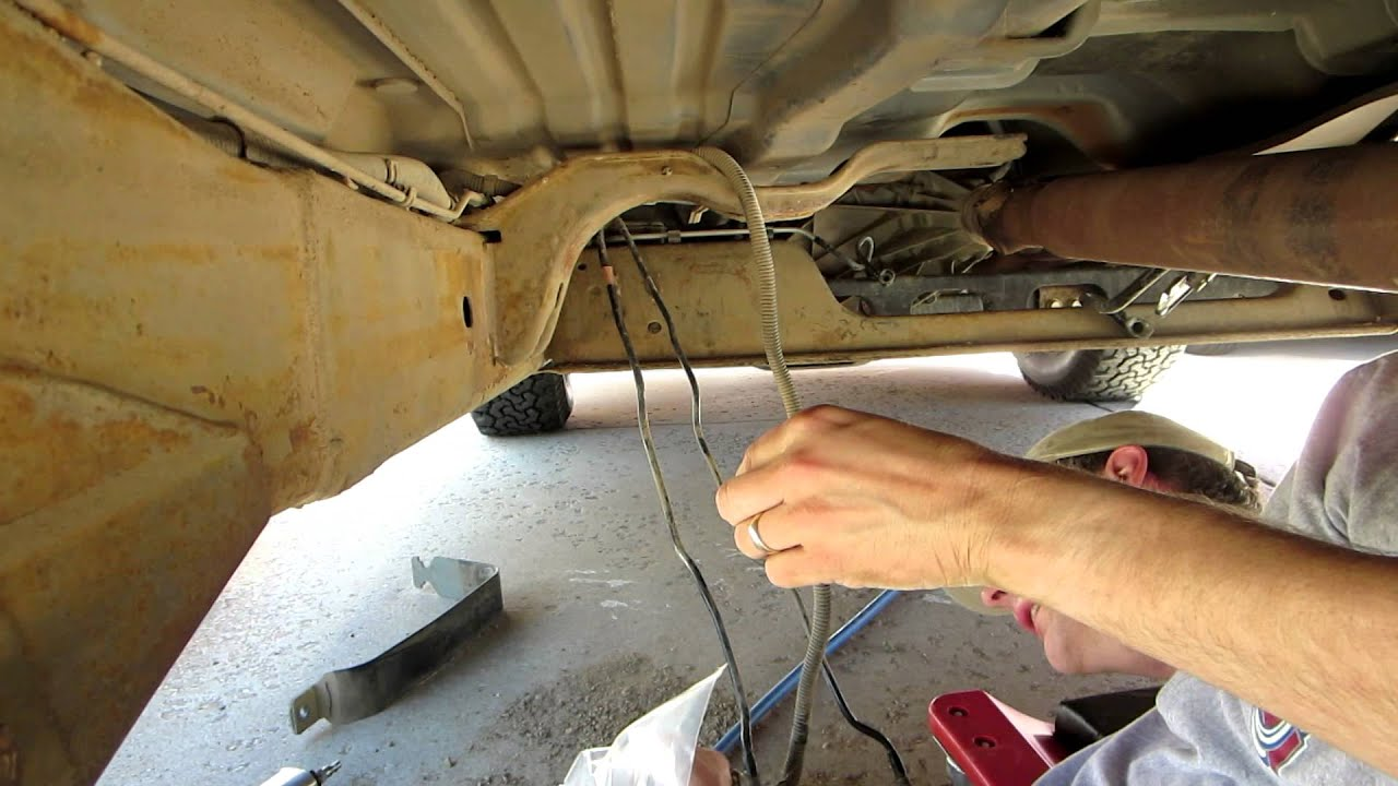 fuel pump install and pressure test 2003 suburban 1500