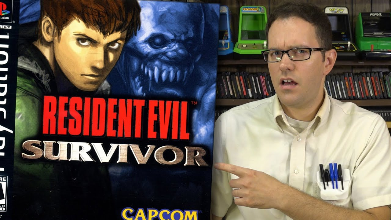 Resident Evil Survivor (PlayStation) - Angry Video Game Nerd (AVGN)