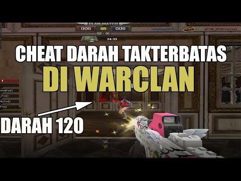 CHEAT DARAH TAK TERBATAS DI WAR CLAN ( LFXl0neMore ) - POINTBLANK GARENA INDONESIA