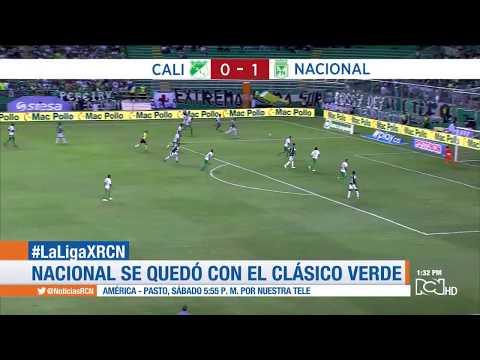 Cali vs Nacional (1-0) gol, resumen y declaraciones  Cuadrangulares Fecha 4 FPC